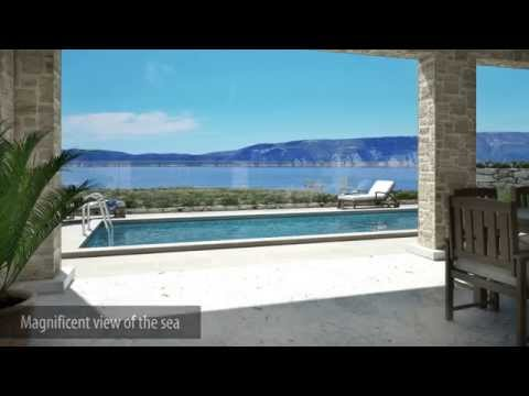 Exclusive Real Estate Croatia - Island of Krk, Pinezici, new villa for sale