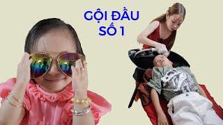 Cô nàng bé bỏng nhất VN cùng Huy Tí Hon đi gội đầu ở tiệm Cô Chủ Nhỏ II ĐỘC LẠ BÌNH DƯƠNG