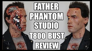 terminator 2 t 800 bd 1 1 life size bust review