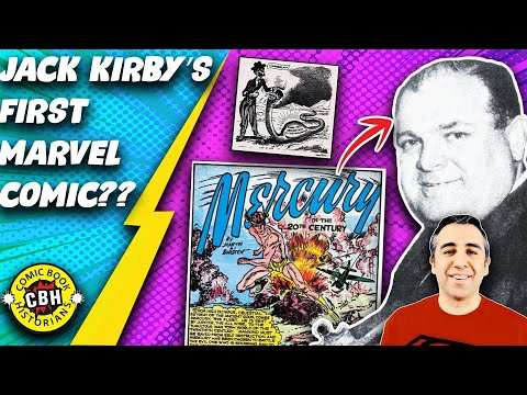 Episode 25.   Who wrote Jack Kirby's 1st story for Marvel?  Hint:  Martin Bursten is not  Kirby byAG