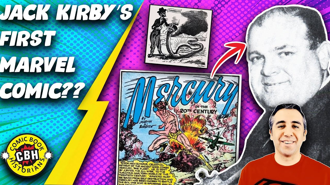 Episode 25. Who wrote Jack Kirby\u0027s 1st story for Marvel? Hint ...