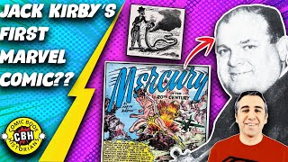 Episode 25.   Who wrote Jack Kirby's 1st story for Marvel?  Hint:  Martin Bursten is not  Kirby