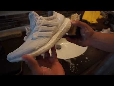 How To Clean Adidas Ultra Boost Crep Protect Cure Review ( Best product!)