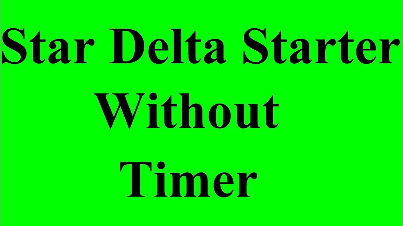 medium resolution of star delta connection in hindi