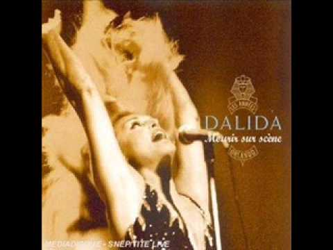 Dalida Mourir sur scène LYrics