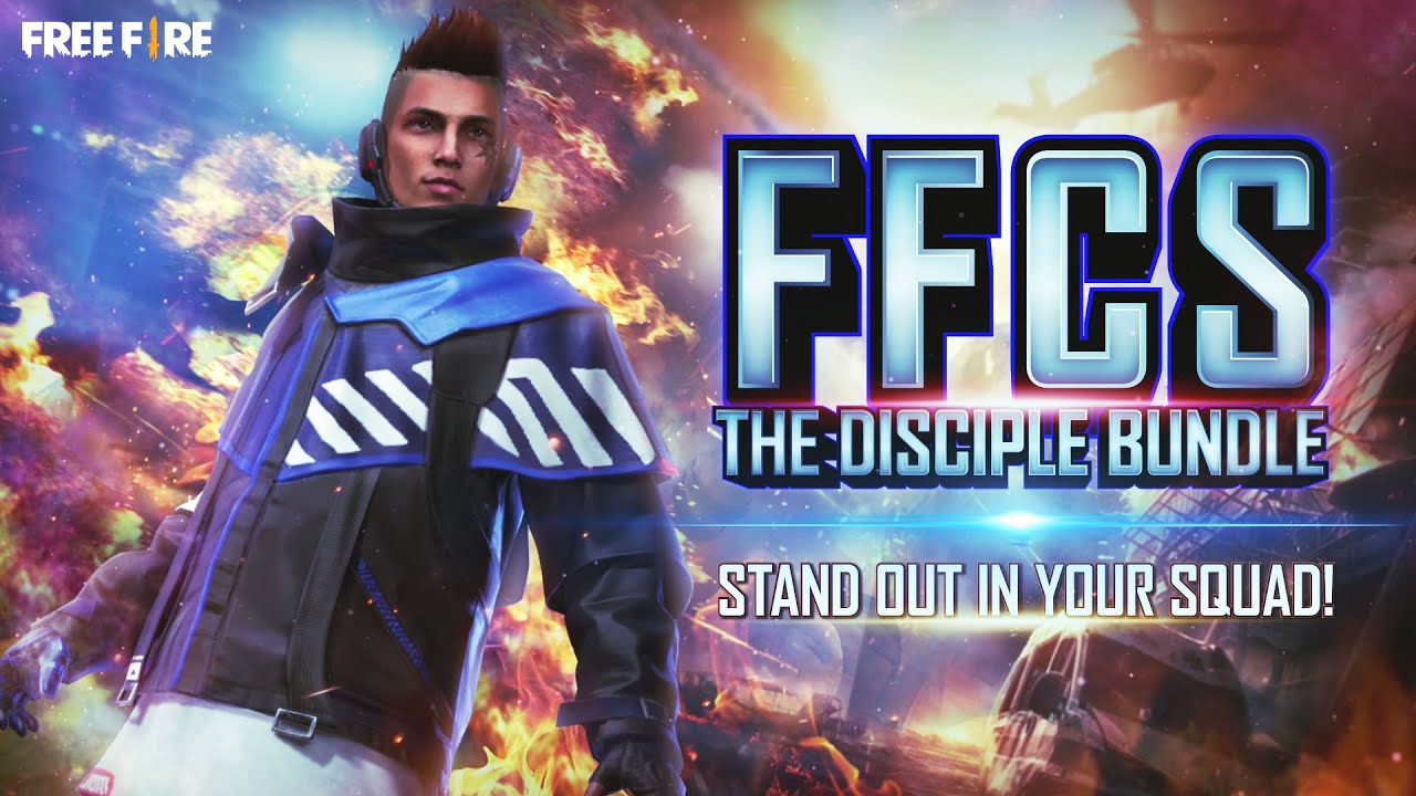 Faded Wheel: FFCS Disciple Bundle | Garena Free Fire
