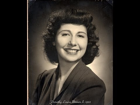 Dorothy Kellner Memorial Video 1922 - 2013