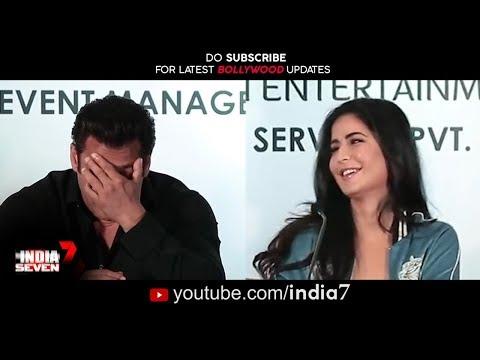 Salman Flirting With Katrina Kaif | Love Again Salman & Katrina Start Their Love Story