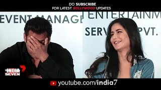 Salman Flirting With Katrina Kaif in Media | Love Again Salman & Katrina start their Love Story