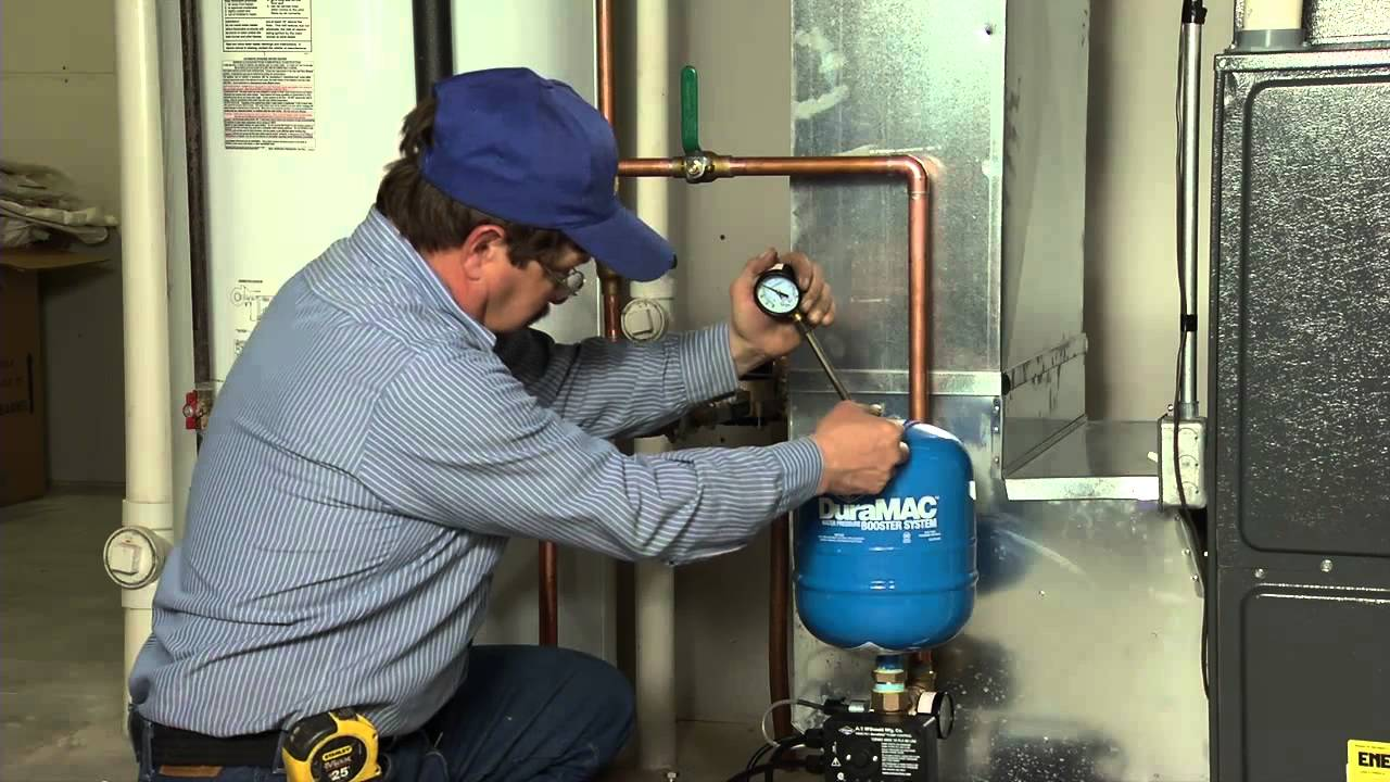 Duramac Residential Pressure Booster Installation Youtube