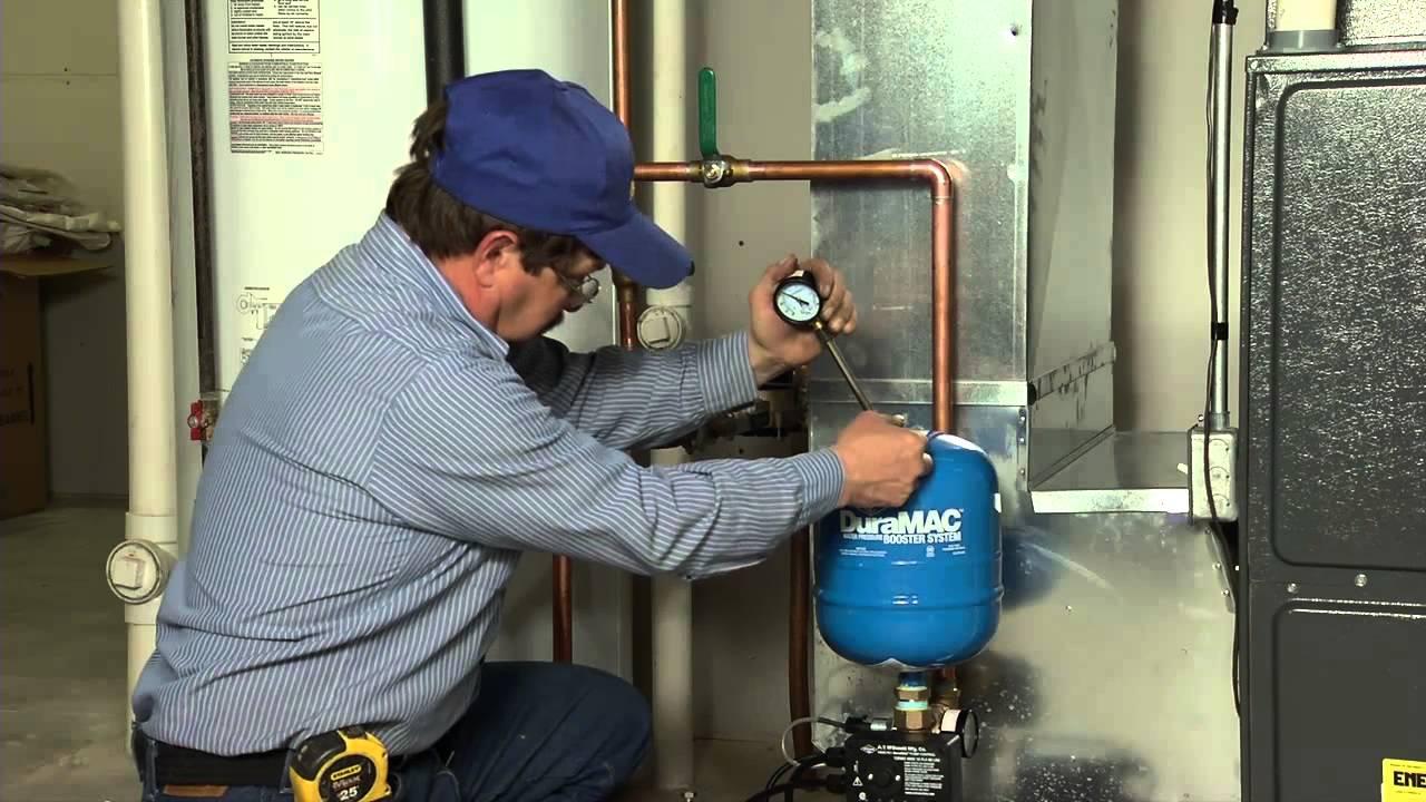 DuraMAC™ Residential Pressure Booster Installation  YouTube