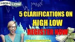 ✩ ✔ Watch Highlow Broker Review 2017 - Is High Low Binary Options Trading Platform Safe? - Youtube