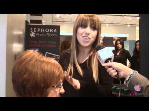 Rita Hazan interview with VIVE Katerin @ Sephora