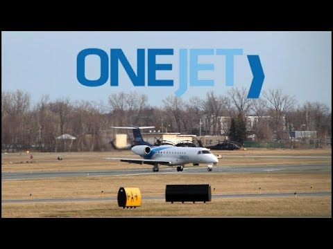 OneJet erj-135 magnificant approach into Albany