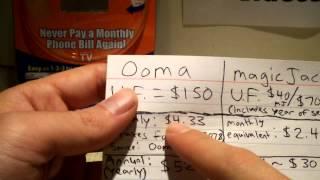 magicJack (Plus) versus Ooma - Pricing