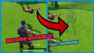 Fortnite Glitches Season 5 (New) Become Completely Invisible For everyone on PS4/Xbox one 2018