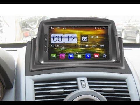 Штатная магнитола Renault Megane 2 (2002-2008) Android 4.4.4 W2-M098