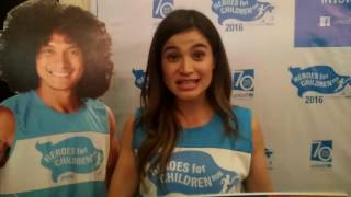Anne Curtis-Smith for Heroes for Children Run 2016