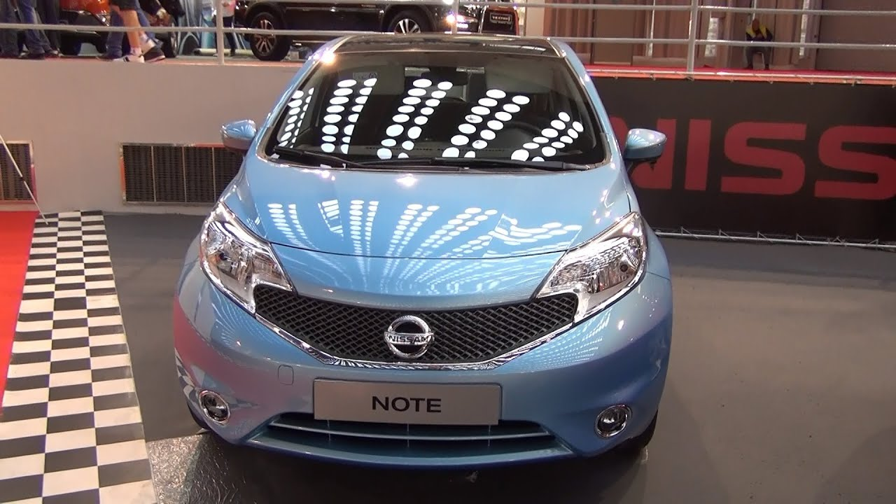 Nissan Note Pure Drive Exterior and Interior in 3D 4K UHD