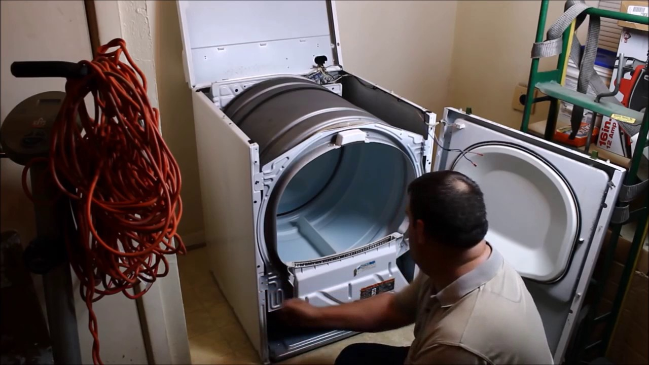How To Take Apart Or Disassemble A Maytag Dryer Youtube