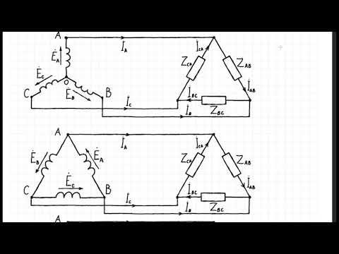 ТОЭ62 Способы соединения трёхфазных систем. Основные определения.