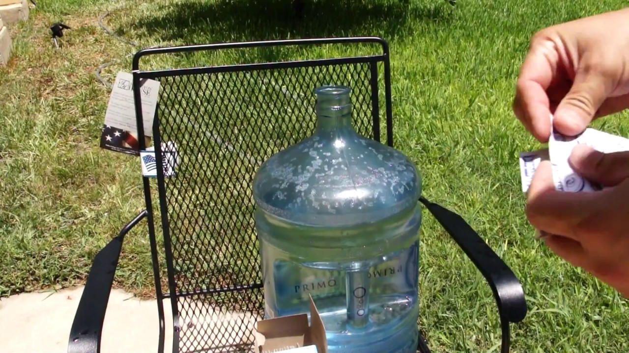 How to Clean & Sanitize Primo 5-Gallon Water Containers