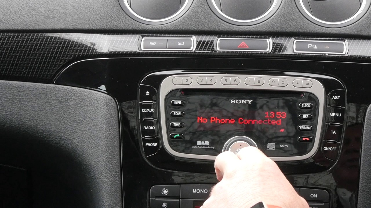 How To Stream Audio To The Bluetooth System In A Ford Ford S Max 2