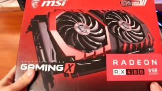 Компанія MSI Radeon серії ГХ 480 ігор X 8 ГБ Розпакування | Rozetka.com.ua