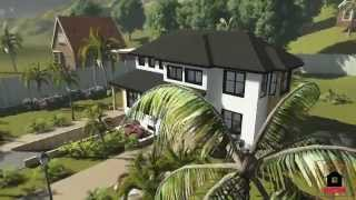 Caribbean House Plans | Plan 04 | Virtual Tour