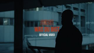 CURSE -  WAS DU BIST (prod. Hitnapperz) - Offizielles Video