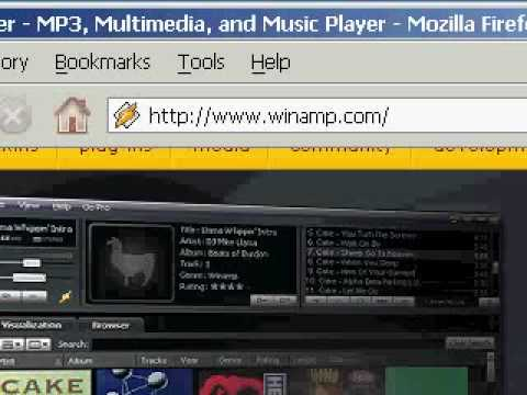 How to Download Music, video from winamp.com