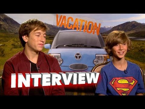 Vacation: Skyler Gisondo & Steele Stebbins Exclusive