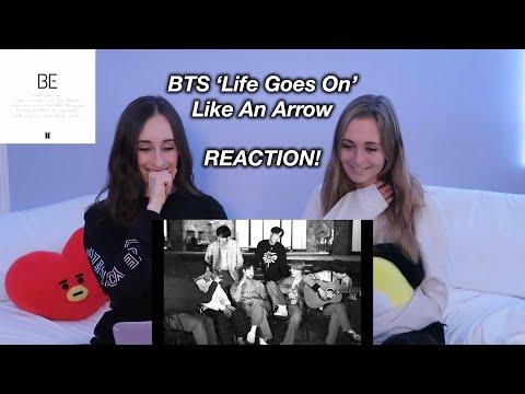 BTS (방탄소년단) 'Life Goes On' Official MV : like an arrow REACTION!