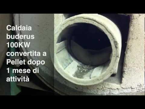 Conversione bruciatore da gasolio a pellet doovi for Caldaie domestiche a idrogeno