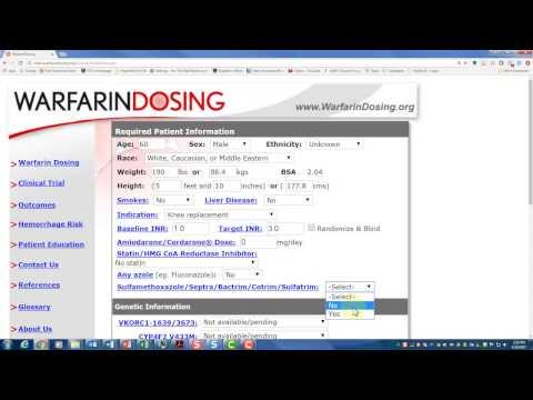 Warfarin Dosing