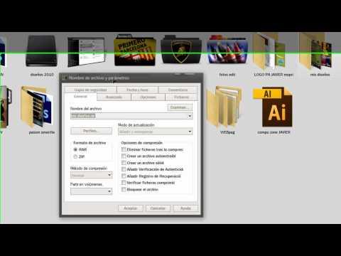 Windows 10 - Ahorrar espacio en disco con carpetas comprimidas from YouTube · Duration:  3 minutes 14 seconds