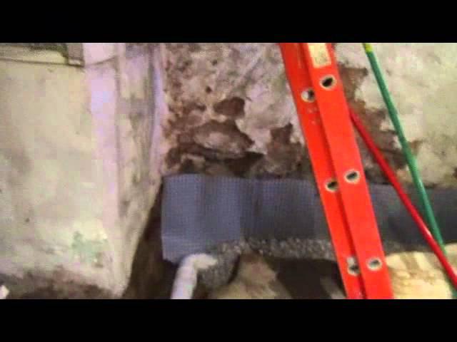 Basement Waterproofing Philadelphia Sahara Waterproofing French Drain Sump Pump Youtube