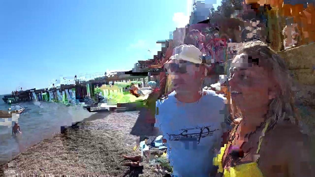 КРЫМ Гурзуф Чеховская дача Алупка Зеленый мыс Ласточкино гнездо Ялта Массандровский пляж ЗА ДЕНЬ