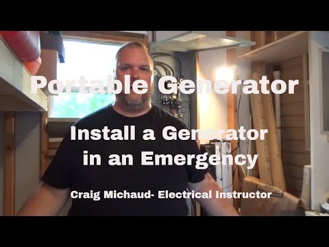 How To Hook Up a Generator To Your House - Pt 3 Powering up the house from YouTube · Duration:  5 minutes 48 seconds