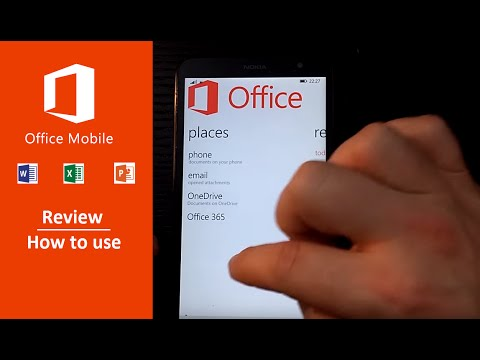 Microsoft Office For Mobile Review
