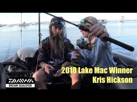 2018 Costa BREAM Tour | Lake Macquarie Boater Winner