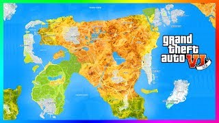 GTA 6's Map Size Will Be The BIGGEST Rockstar Games Has Ever Made & Here Is Why! (GTA VI Map)