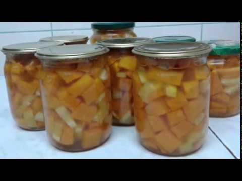 Полезное манго из тыквы на зиму.