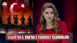 Elazığ'da 6, Van'da 3 terörist öldürüldü