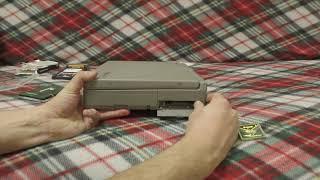 замена диска в Toshiba Tecra 740CDT vLog