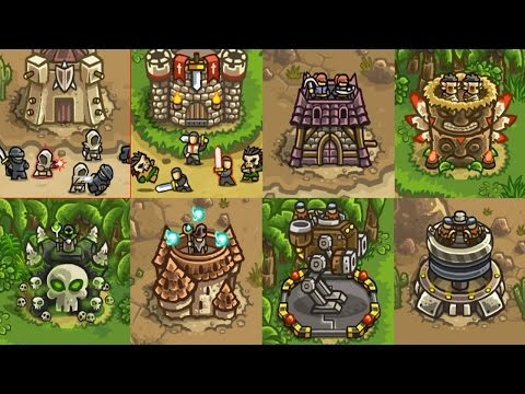 Kingdom Rush Frontiers - Прохождение на PC (Steam)