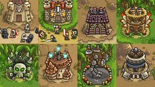 kingdom Rush Frontiers - Самый Последний Уровень (Новое обновление Steam)  Новые Герои