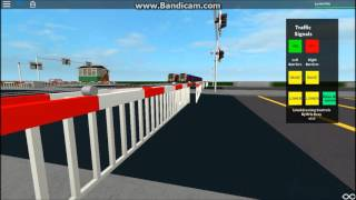 ROBLOX Trinford The Motorway Level Crossing 30 Subscribers