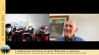 Sami Modiano abbraccia gli studenti di Castellamonte