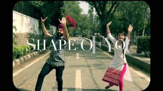 SHAPE OF YOU|BHANGRA MIX| VALENTINES FRENZY(feat. Diljit Dosanjh)|DJ Frenzy|BOLLY GARAGE
